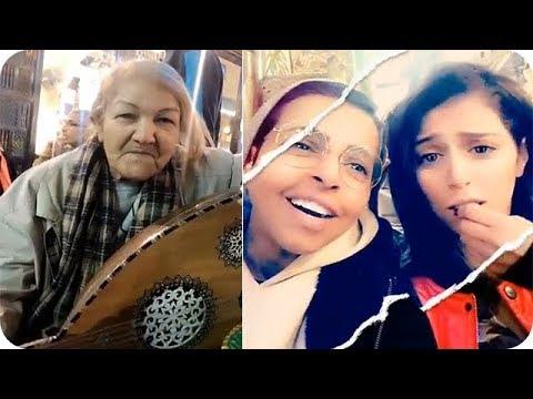 شاهد كابتن ريما ورجاء بلمير مع أقوى عازفة في مصر