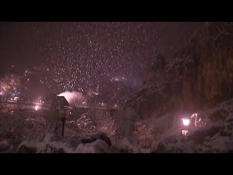 استمرار موجة البرد وتساقط الثلوج في المغرب