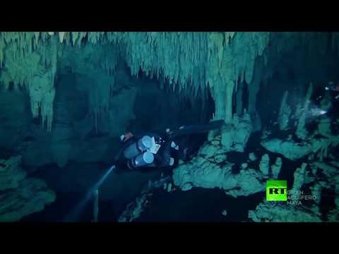شاهد العثور على أطول كهف تحت الماء في العالم