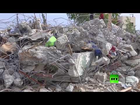 شاهد إسرائيل تهدم منزلي نصر جرار وصلاح جردات في جنين