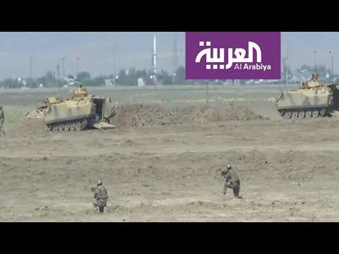 شاهد القوات الحكومية السورية تهدّد بتدمير المقاتلات التركية