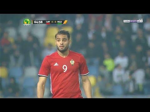 شاهد ملخص مباراة ليبيا ونيجيريا