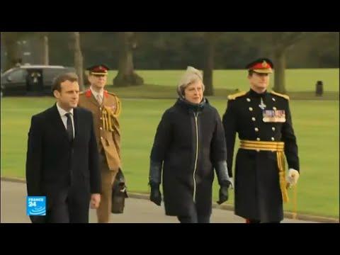 توقيع معاهدة بين فرنسا وبريطانيا