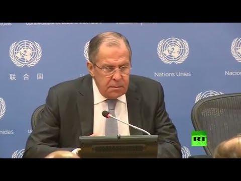 شاهد لافروف يأسف لاتباع واشنطن نهج المواجهة بدلا من الحوار مع روسيا