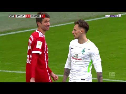 شاهد ملخص مباراة بايرن ميونخ وفيردر بريمن