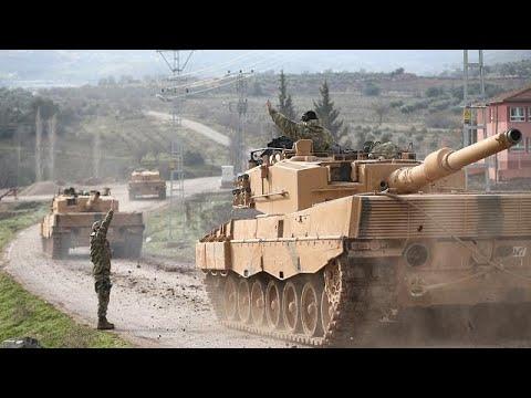 أنباء عن دخول الجيش التركي إلى عفرين