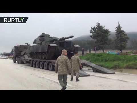 وصول تعزيزات عسكرية تركية إلى ولاية كليس الحدودية مع سورية