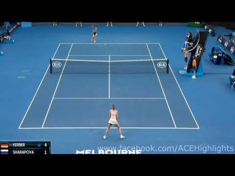 شاهد انتهاء مشوار شارابوفا مبكرًا فى بطولة أستراليا المفتوحة للتنس