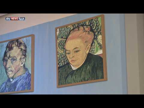 شاهد رسومات الفنان فان غوخ على المسرح الوطني في أبوظبي
