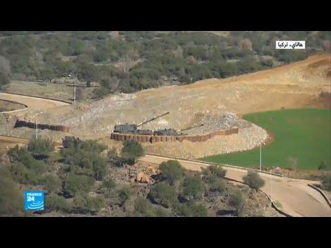 شاهد الجيش التركي يؤكد بدء عملية غصن الزيتون في عفرين