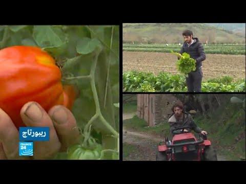 شاهد الشباب الإيطالي يهجر المدن ويتجه إلى الأرياف لاحتراف الزراعة