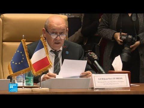 شاهد فرنسا تحض تركيا على وقف هجومها في سورية