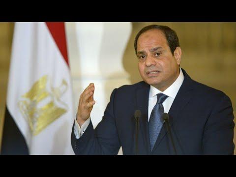 شاهد الرئيس المصري عبد الفتاح السيسي يعلن ترشحه لولاية رئاسية ثانية