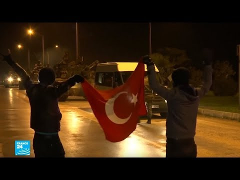 شاهد القصف التركي على عفرين يوقع خسائر بشرية