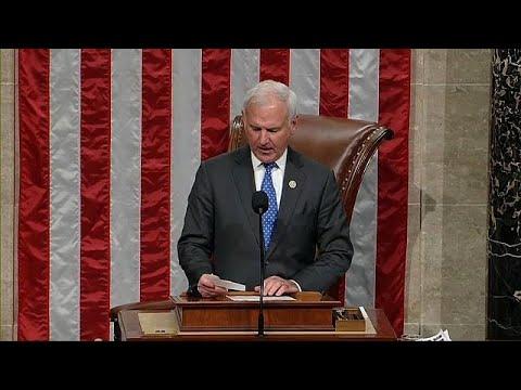 بالفيديو إنهاء إغلاق الحكومة الأميركية