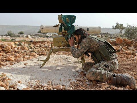 شاهد حصيلة الأيام الأولى للعملية العسكرية التركية في منطقة عفرين