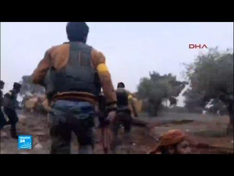 شاهد المواجهات البرية تشهد تصعيدا في العملية العسكرية التركية في عفرين