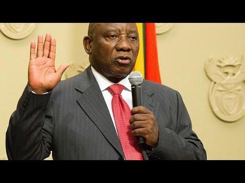 سيريل رامافوزا الوجه الجديد لجنوب أفريقيا