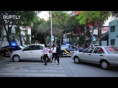 زلزال بقوة 75 درجات يضرب المكسيك