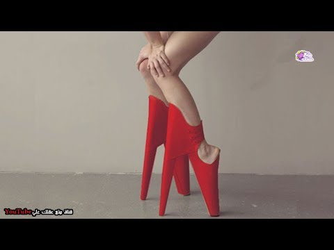 أغرب 10 أحذية نسائية في العالم