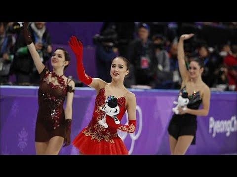 الروسية زاخيتوفا تفوز بالميدالية الذهبية