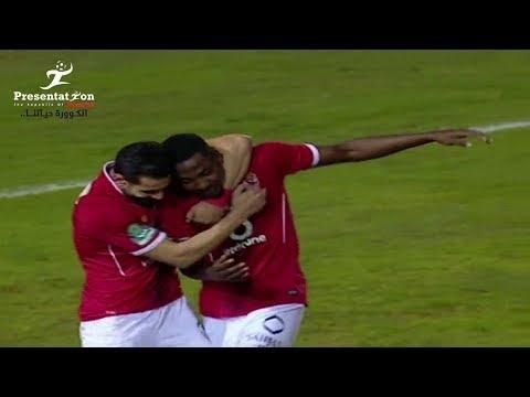 شاهد: النادي الأهلي يفوز على ضيفه الإنتاج الحربي