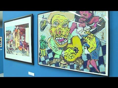 معرض دولي للرسوم الساخرة في البرتغالي