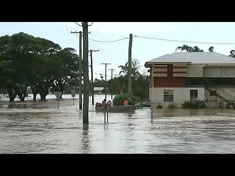 شاهد فيضانات جارفة تجتاح أستراليا