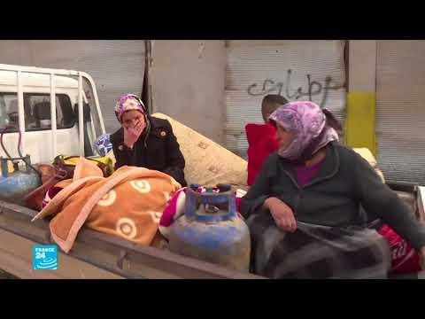 شاهد استقرار الأوضاع في عفرين بعد دخول القوات التركية والفصائل الموالية لها