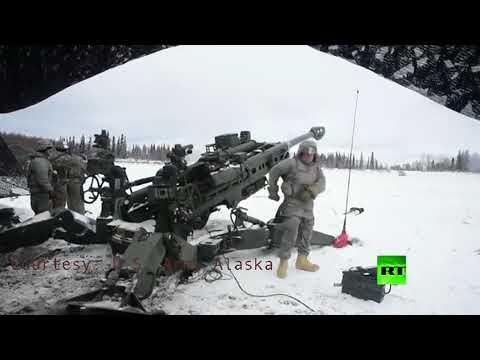 شاهد تدريبات عسكرية للقوات الأميركية في ألاسكا