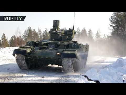 الجيش الروسي يتسلح بـ قاتل الدبابات الجديد