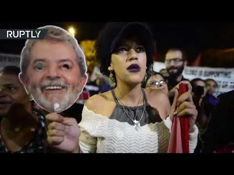 شاهد المظاهرات تجتاح شوارع سان باولو