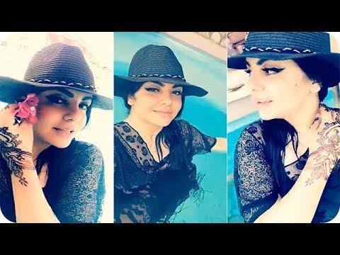 شاهد جيهان هاشم تنشر مقطع فيديو لها في المسبح