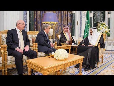 لقاء الملك سلمان مع رئيس لجنة الشراكات في حلف شمال الأطلسي