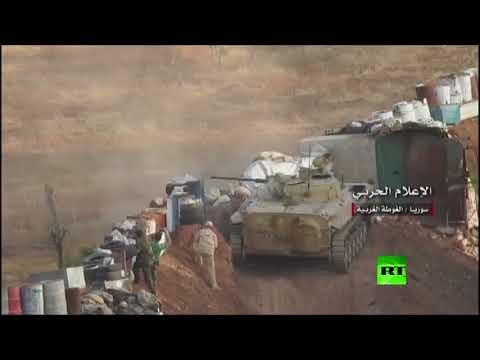 استمرار عمليات الجيش السوري ضد داعش في دمشق