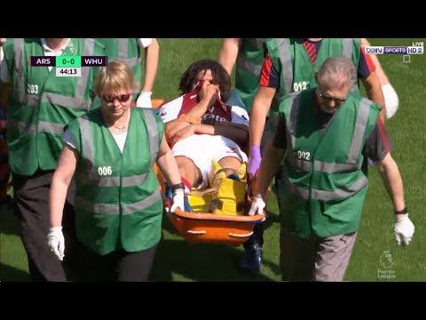شاهد لحظة إصابة النجم محمد النني