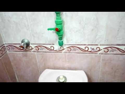 شاهد كيفية استخدام خزان المياه في المنازل