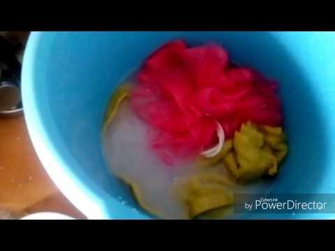 بالفيديو كيفية غسل الملابس الداخلية