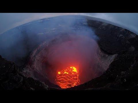 الحمم تتصاعد مجددًا من بركان كيلاويا في هاواي