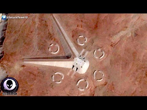 بالفيديو ظهور كائنات فضائية غريبة في صحراء شرق القاهرة