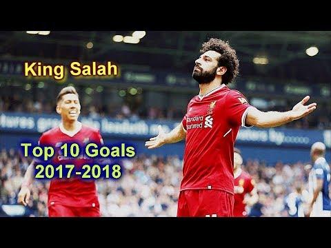 شاهد  أفضل 10 أهداف للاعب ليفربول محمد صلاح