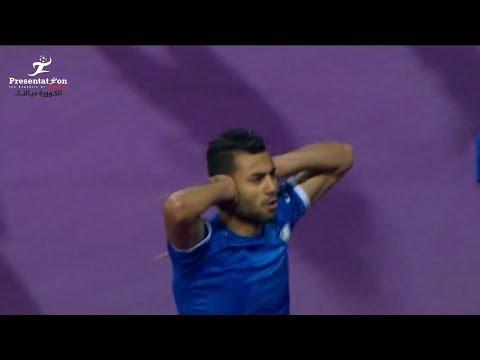 شاهد  حسام حسن يحرز الهدف الأول لسموحة أمام الزمالك