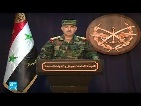 شاهد الجيش السوري يستعيد السيطرة على 65 بلدة وقرية في ريفي حمص وحماة