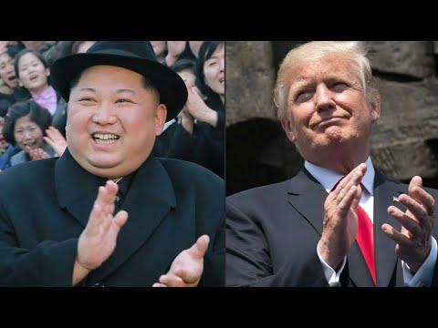 شاهد الرئيس الأميركي ينذر بإلغاء قمة كيم – ترامب