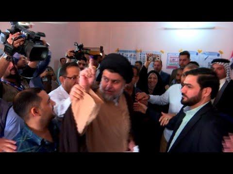 شاهدالصدر على رأس نتائج الانتخابات العراقية