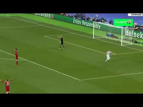 شاهد  الهدف الأول لريال مدريد في مرمى ليفربول بقدم كريم بنزيما