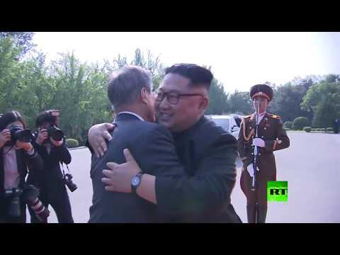 رئيس كوريا الجنوبية يلتقي الزعيم الكوري الشمالي
