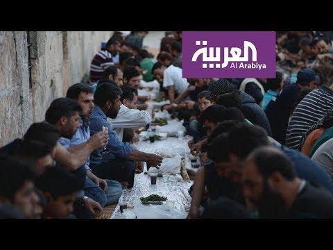 موائد الإفطار في إدلب