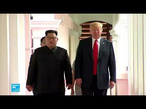 شاهد الولايات المتحدة تتمسك بنزع بيونغ يانغ سلاحها النووي بشكل كامل