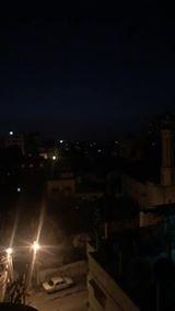 شاهد غزة تتعرّض الآن لغارات جويّة إسرائيلية